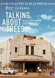 """Movie poster for """"TALKING ABOUT TREES"""""""