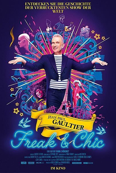 "Filmplakat für ""JEAN PAUL GAULTIER: FREAK AND CHIC"""