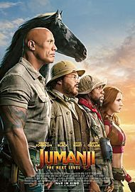 "Filmplakat für ""JUMANJI: THE NEXT LEVEL"""