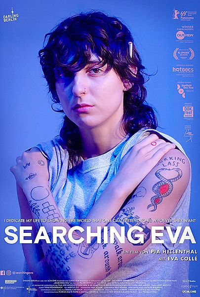 """Movie poster for """"SEARCHING EVA"""""""