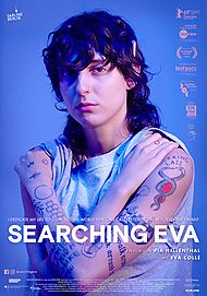 "Movie poster for ""SEARCHING EVA"""