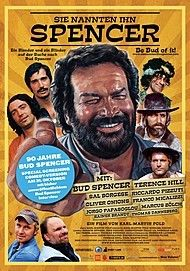 "Movie poster for ""SIE NANNTEN IHN SPENCER - 90 JAHRE BUD SPENCER"""