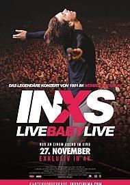"""Filmplakat für """"INXS: LIVE BABY LIVE"""""""