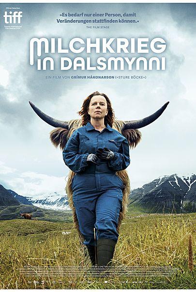"""Filmplakat für """"MILCHKRIEG IN DALSMYNNI"""""""