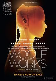 "Movie poster for ""WOOLF WORKS - The Royal Ballet"""