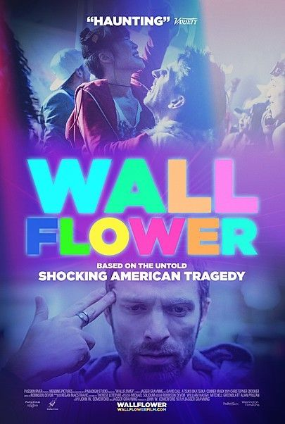 "Movie poster for ""WALLFLOWER"""