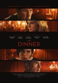 "Movie poster for ""THE DINNER"""