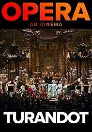 "Movie poster for ""TURANDOT- MET 2019"""