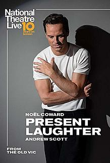 "Movie poster for ""PRESENT LAUGHTER (NT LIVE)"""
