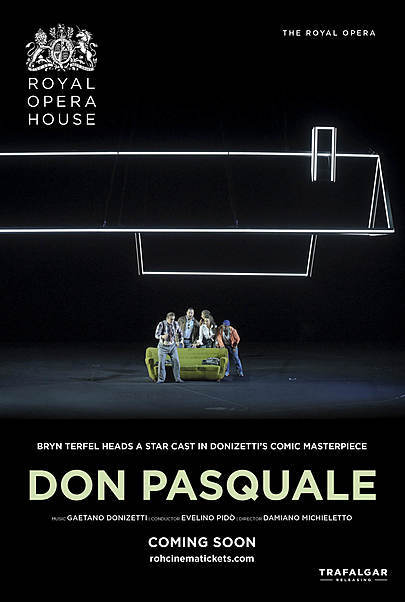 """Movie poster for """"DON PASQUALE - ROYAL OPERA HOUSE 2019/20"""""""