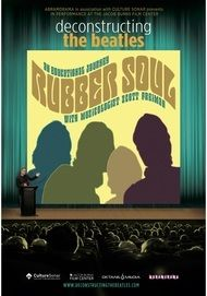 "Movie poster for ""DECONSTRUCTING THE BEATLES: RUBBER SOUL"""