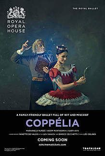 "Movie poster for ""COPPELIA - ROYAL OPERA HOUSE 2019/20"""