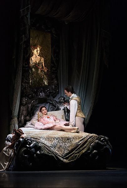 "Movie poster for ""THE SLEEPING BEAUTY - ROYAL OPERA HOUSE 2019/20"""