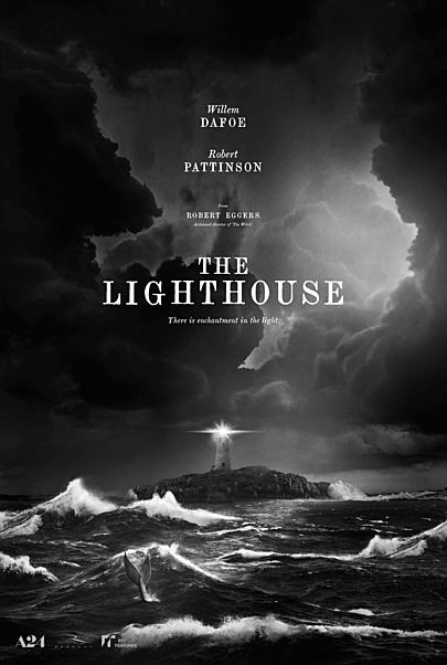 "Movie poster for ""THE LIGHTHOUSE"""