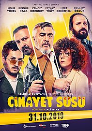 "Movie poster for ""CINAYET SÜSÜ"""