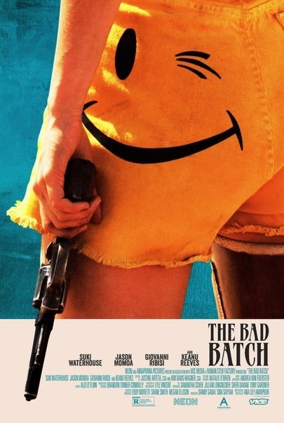 "Movie poster for ""THE BAD BATCH"""