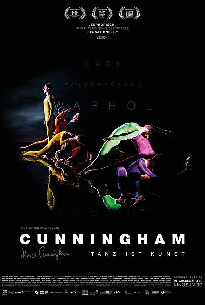"""Filmplakat für """"CUNNINGHAM"""""""
