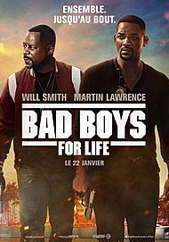 "Movie poster for ""BAD BOYS FOR LIFE"""