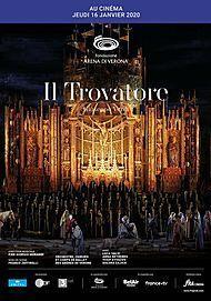 """Movie poster for """"IL TROVATORE - ARENA DI VERONA"""""""