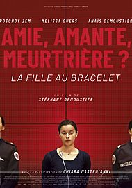 """Movie poster for """"THE GIRL WITH A BRACELET"""""""