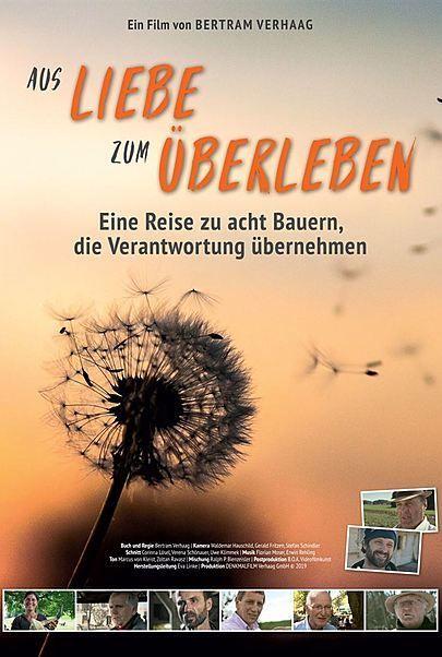"""Filmplakat für """"AUS LIEBE ZUM ÜBERLEBEN"""""""