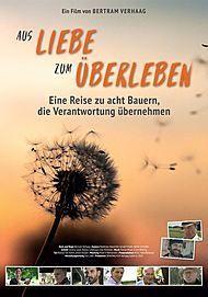 """Movie poster for """"AUS LIEBE ZUM ÜBERLEBEN"""""""