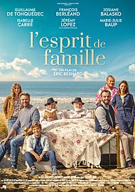 "Movie poster for ""L'ESPRIT DE FAMILLE"""
