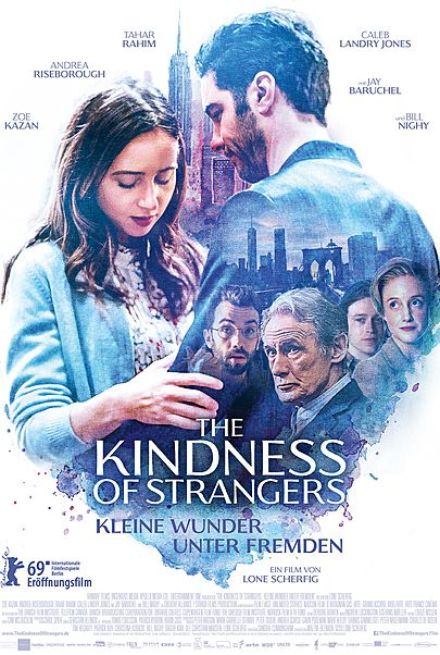 """Movie poster for """"THE KINDNESS OF STRANGERS"""""""