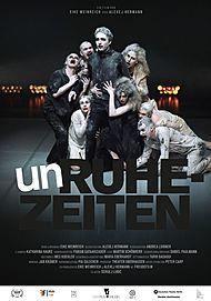 """Movie poster for """"UNRUHEZEITEN"""""""