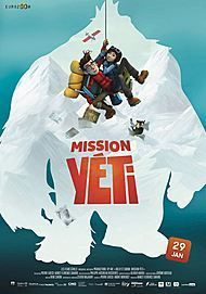 """Movie poster for """"MISSION KATHMANDU : THE ADVENTURES OF NELLY AND SIMON"""""""