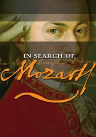"Movie poster for ""IN SEARCH OF MOZART - Exhibition on Screen"""