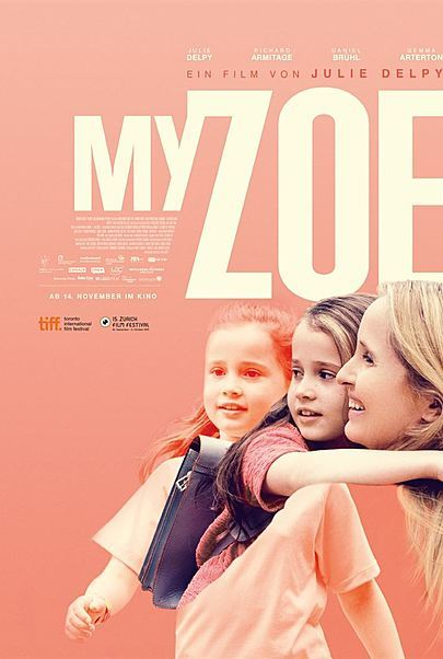 """Movie poster for """"MY ZOE"""""""