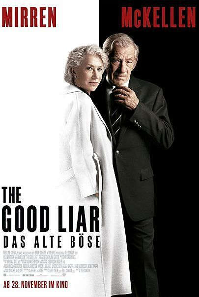 """Movie poster for """"THE GOOD LIAR"""""""
