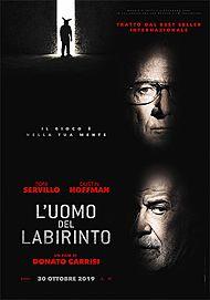 """Movie poster for """"L'UOMO DEL LABIRINTO"""""""