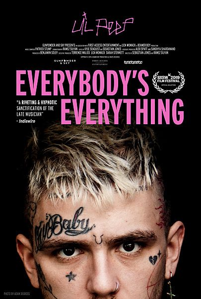 "Movie poster for ""EVERYBODY'S EVERYTHING"""