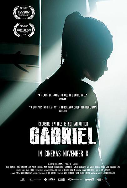 """Movie poster for """"GABRIEL"""""""