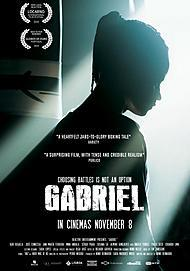 "Movie poster for ""GABRIEL"""