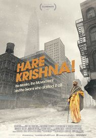 "Movie poster for ""HARE KRISHNA"""