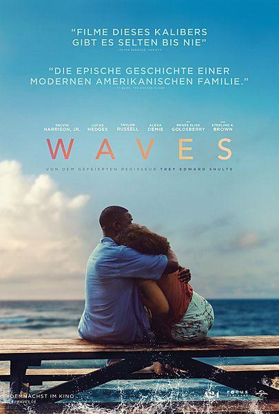 """Filmplakat für """"WAVES"""""""