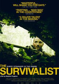 "Movie poster for ""THE SURVIVALIST"""