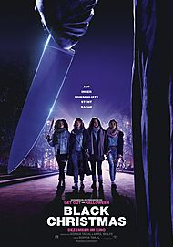 "Movie poster for ""BLACK CHRISTMAS"""
