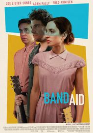 "Movie poster for ""BAND AID"""