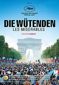 """Movie poster for """"LES MISERABLES"""""""