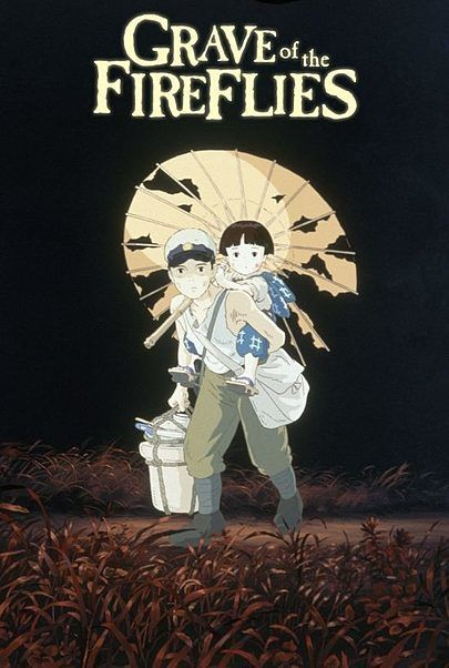 "Movie poster for ""GRAVE OF THE FIREFLIES"""