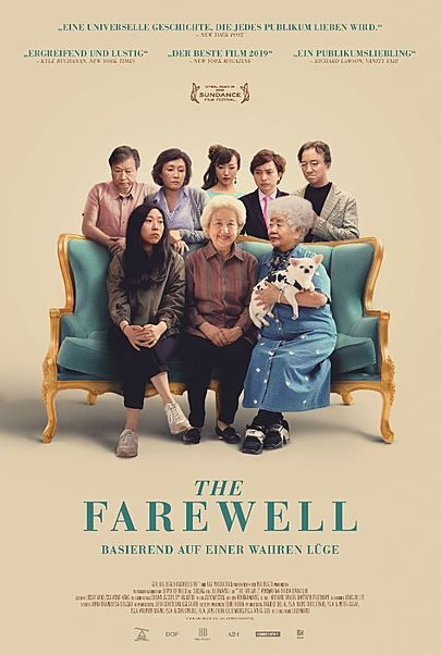 "Filmplakat für ""THE FAREWELL"""
