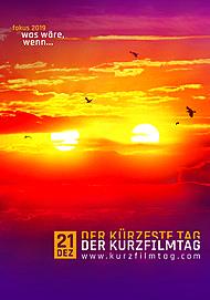 """Filmplakat für """"DER KURZFILMTAG 2019"""""""