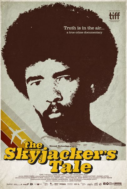 "Movie poster for ""THE SKYJACKER'S TALE"""