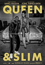 "Movie poster for ""QUEEN & SLIM"""
