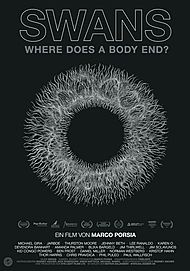 "Filmplakat für ""SWANS - WHERE DOES A BODY END?"""