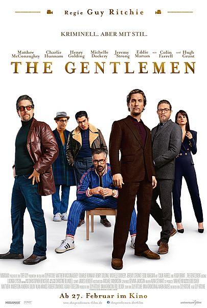 """Filmplakat für """"THE GENTLEMEN"""""""